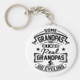 Real Grandpas Go cycling Key Ring