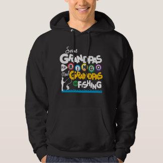 Real Grandpas Go fishing Hoodie