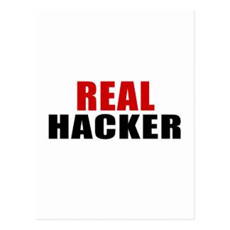 REAL HACKER POSTCARD