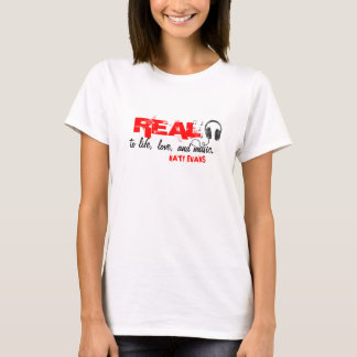REAL (Headphone) T-shirt