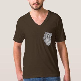 Real Heart Tee Shirts