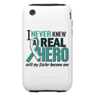 Real Hero 2 Sister Cervical Cancer iPhone 3 Tough Covers
