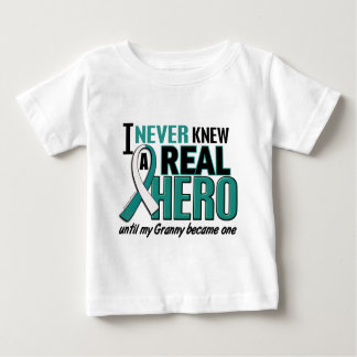 Real Hero Granny Cervical Cancer T-shirts