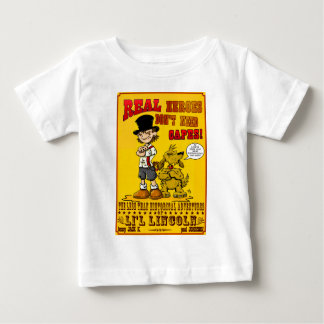 Real Heroes Baby T-Shirt