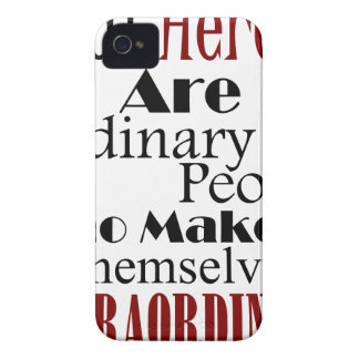 Real Heroes Extraordinary People iPhone 4 Cover