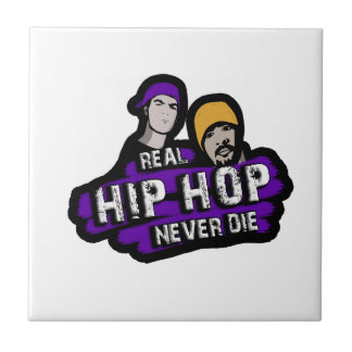 Real Hip Hop never die Ceramic Tile