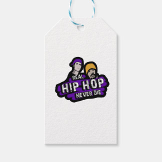 Real Hip Hop never die Gift Tags