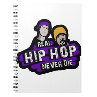 Real Hip Hop never die Notebooks