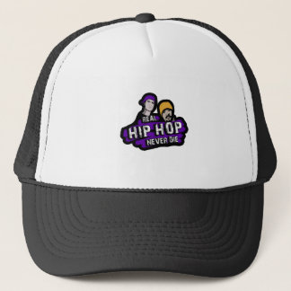 Real Hip Hop never die Trucker Hat