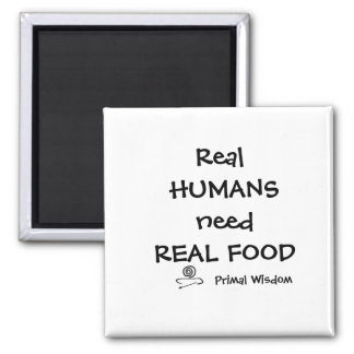 Real Humans Magnet