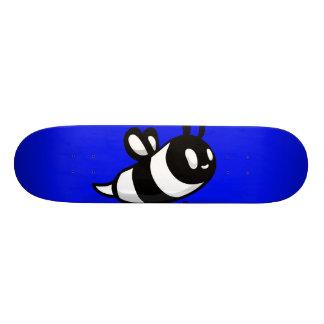 Real Ink™ Cartoon Bee blue Skateboard Deck