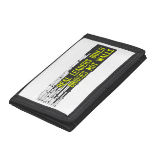 Real Leaders Tri-fold Wallet