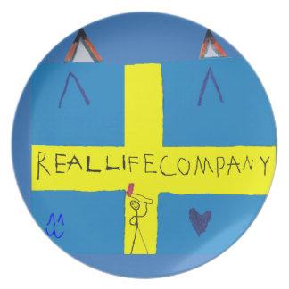 REAL LIFE Company LOGA dish