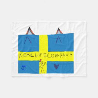 REAL LIFE Company LOGA Fleece Blanket