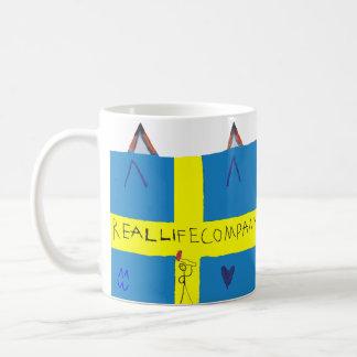 REAL LIFE Company LOGA mug