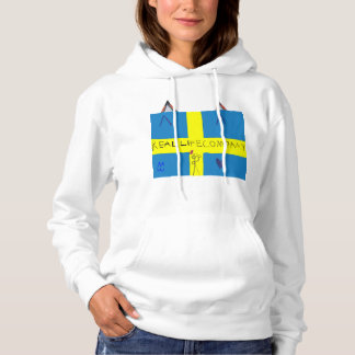 REAL LIFE Company LOGA T-tröja Hoodie