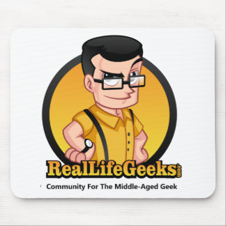 Real Life Geeks Non Apparel Mouse Pad