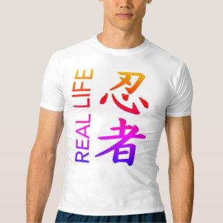 Real Life Ninja Multi Kanji Compression Shirt