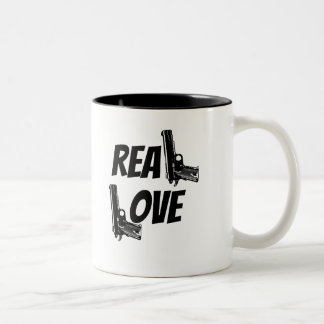 Real Love Gun two tone mug 11oz