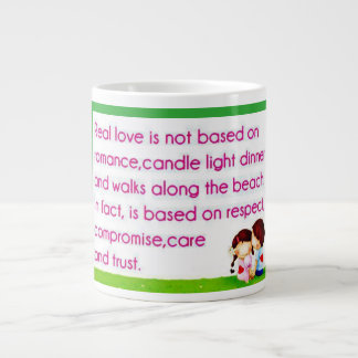 Real love is Based on...Coffee/Tea Mug