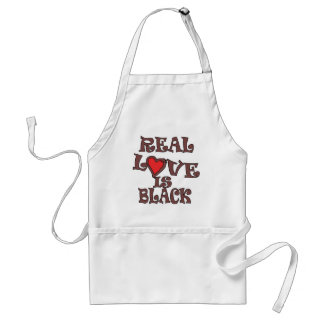 Real Love Is Black Standard Apron
