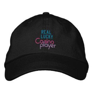 REAL LUCKY cap Embroidered Baseball Cap
