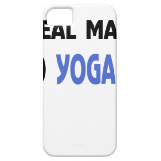 real man do yoga iPhone 5 case