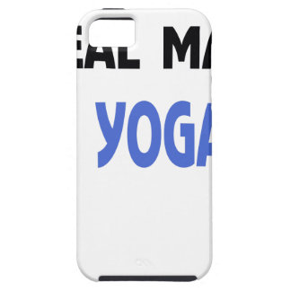 real man do yoga iPhone 5 cases