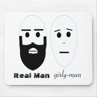 Real Man Mouse Pad
