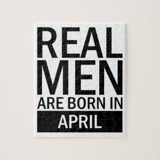 Real Men April Jigsaw Puzzle