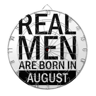 Real Men August Dartboard