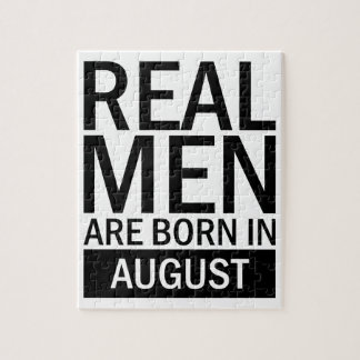 Real Men August Jigsaw Puzzle