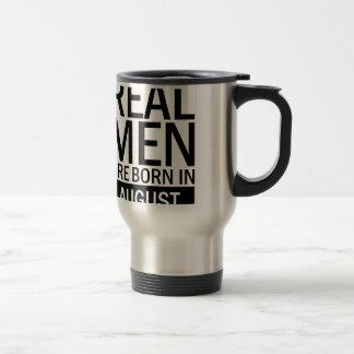 Real Men August Travel Mug