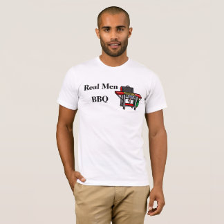 Real Men BBQ or Grill T-shirt