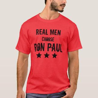 Real Men Choose Ron Paul T-Shirt