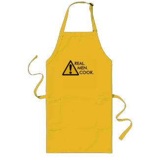 Real Men Cook Apron Long Apron