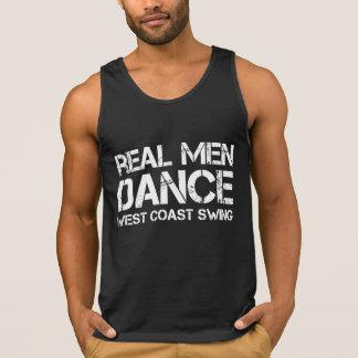 Real Men Dance West Coast Swing Singlet