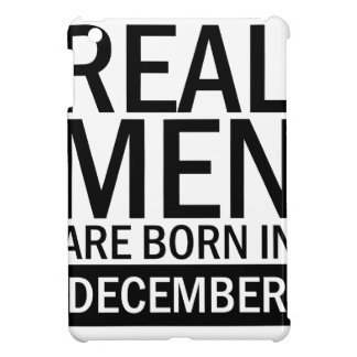 Real Men December iPad Mini Case