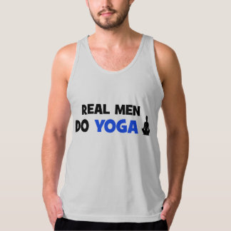 Real Men Do Yoga - Funny Yoga Tank Top Men