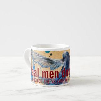Real men don't Jet-ski Espresso Cup