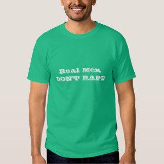 Real Men dont rape tshirt