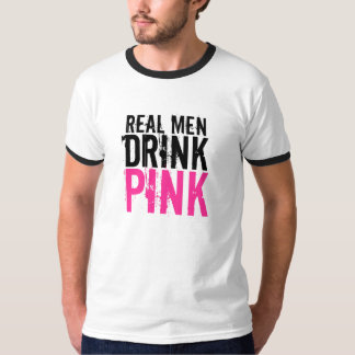 Real Men Drink Pink Plexus Slim Shirt