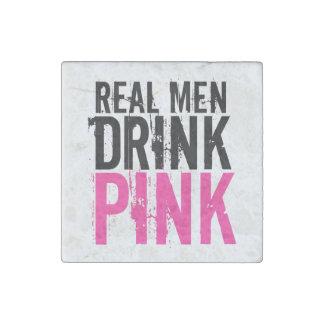 Real Men Drink Pink Plexus Slim Stone Magnet