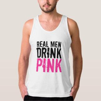 Real Men Drink Pink Plexus Slim Tank Top
