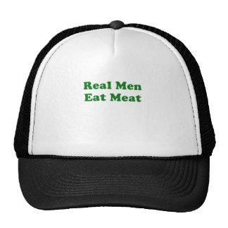 Real Men Eat Meat Mesh Hats