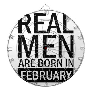Real Men February Dartboard