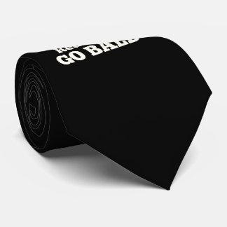 Real Men Go Bald Tie