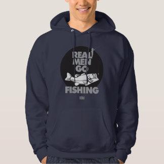REAL MEN GO FISHING Hoodie