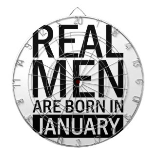 Real Men January Dartboard