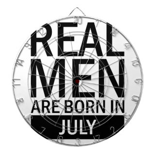 Real Men July Dartboard